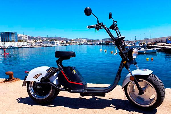 Alquiler chopper eléctrica Marbella | Costa Deluxe