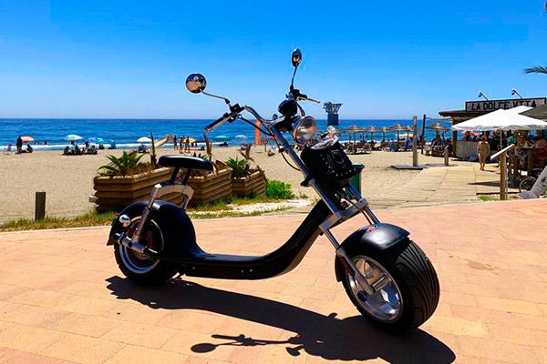 Tour Chopper Eléctrica Marbella de lujo   Costa Deluxe